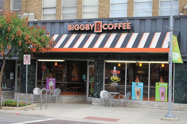 19) Biggby Coffee
