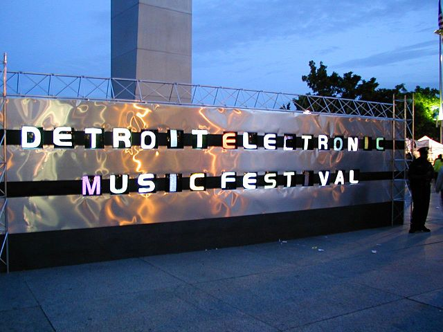 13) Detroit/Movement Electronic Music Festival