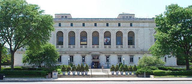 4) Detroit Public Library Main Branch