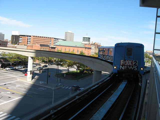 11) People Mover, Detroit