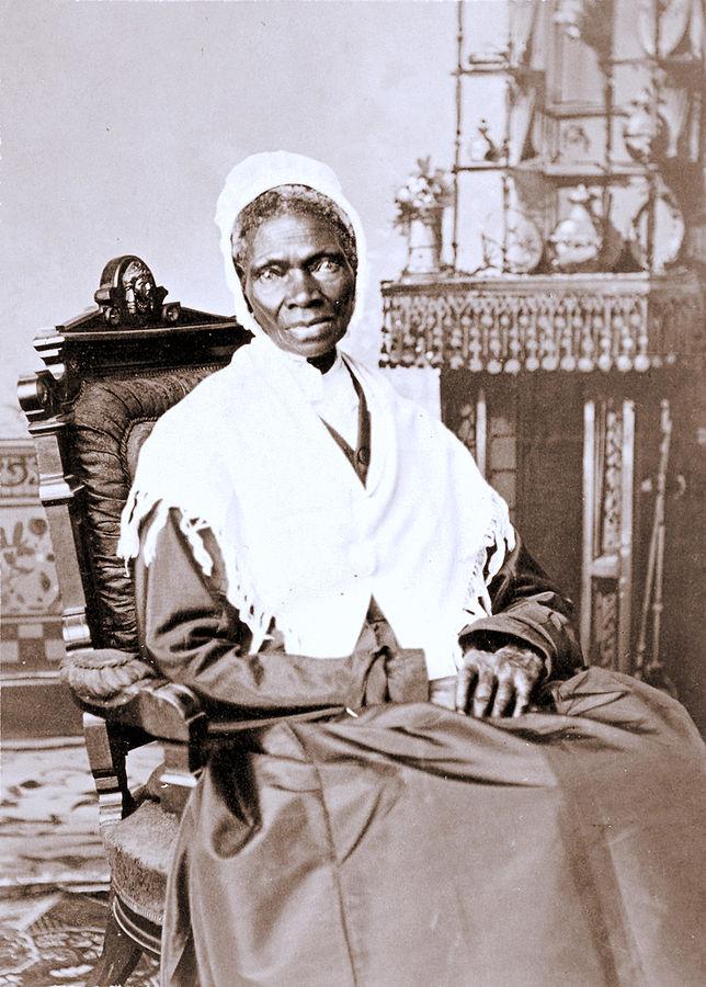 7) Sojourner Truth, abolitionist
