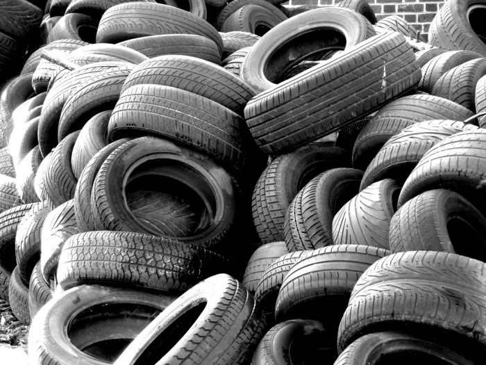 15. Anytime some drives a car or buys new tires because each and every one of them is made here.