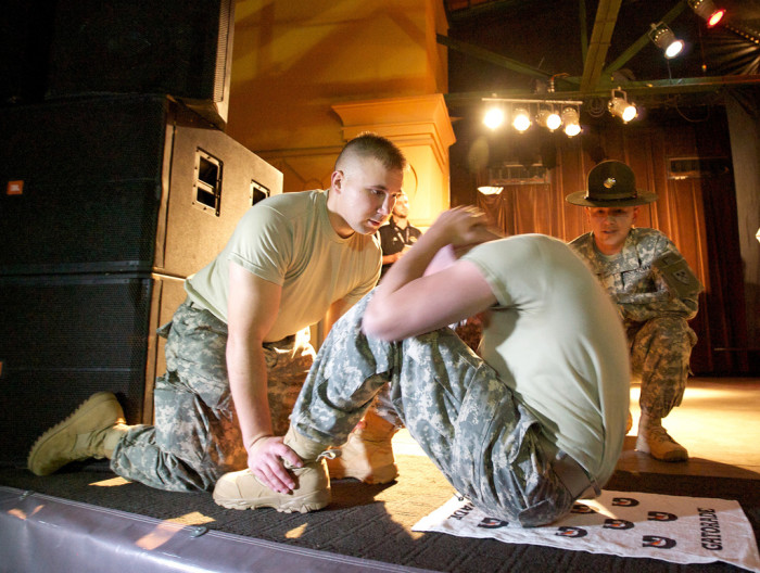 7. No one likes sit-ups. It is one of those exercises that we tend to shy away from except for Capt. Wayne E. Rollins of Elloree, SC. In July of 1971, Capt. Rollins did 40 sit-ups a minute for 7 hours 27 minutes for a total of 17,000 sit-ups.