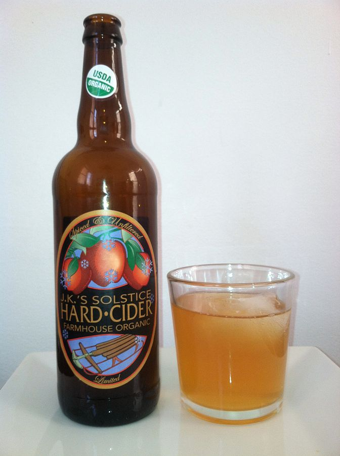 14) And while the kiddies are sipping on the stuff from the cider mill, grownups are enjoying a growing number of hard cider makers throughout the state.