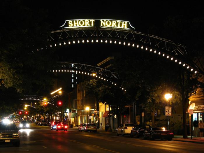 7) The Short North
