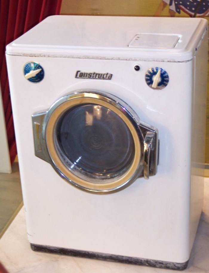 7.) First Household Washing Machine