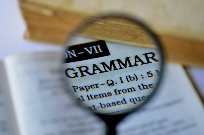 7.) You prefer to end your sentences with a preposition (who needs proper grammar anyway?)