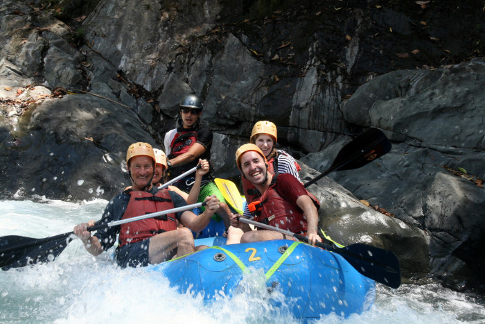 3. There is adventure around every corner!  From whitewater rafting...