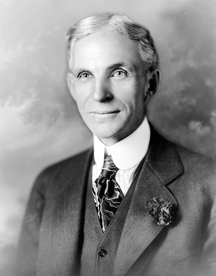 8) Henry Ford