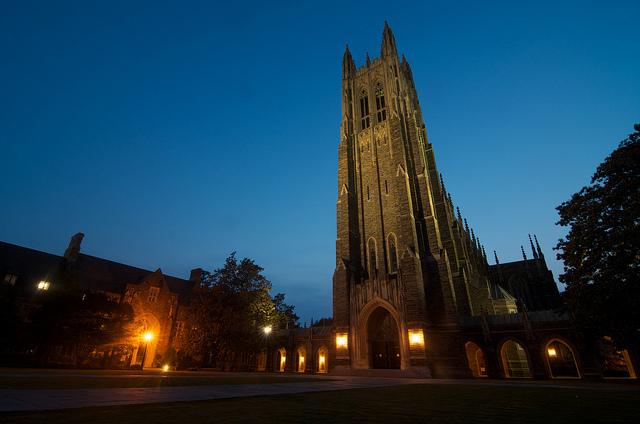 1. Duke University Chapel