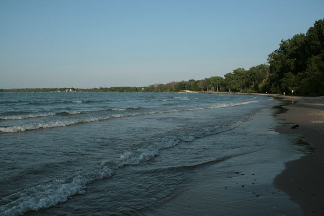 5) Kelleys Island State Park Beach