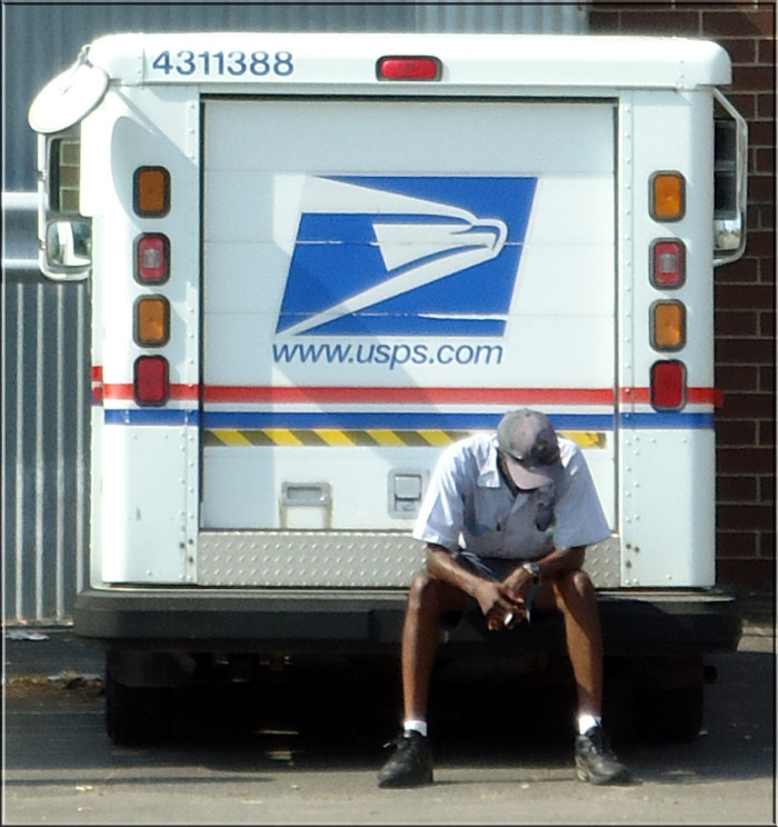 1. Chris Brown does more than deliver the mail.