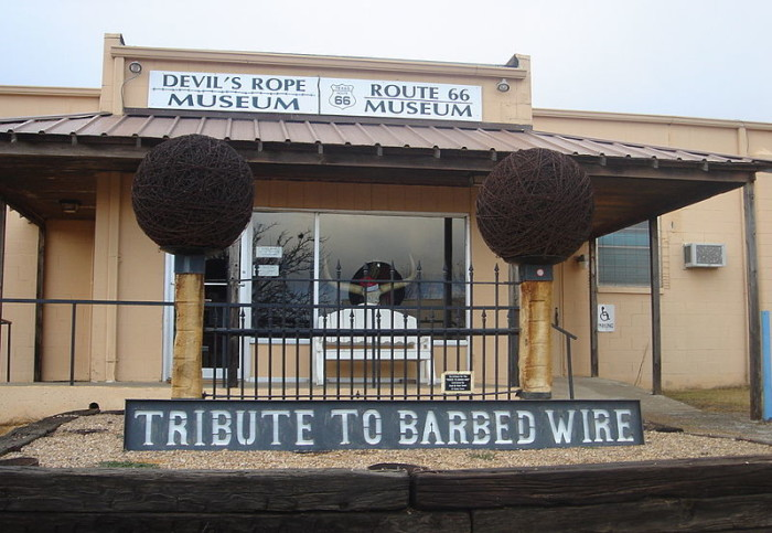 3) Devil's Rope Barbed Wire Museum (McLean)