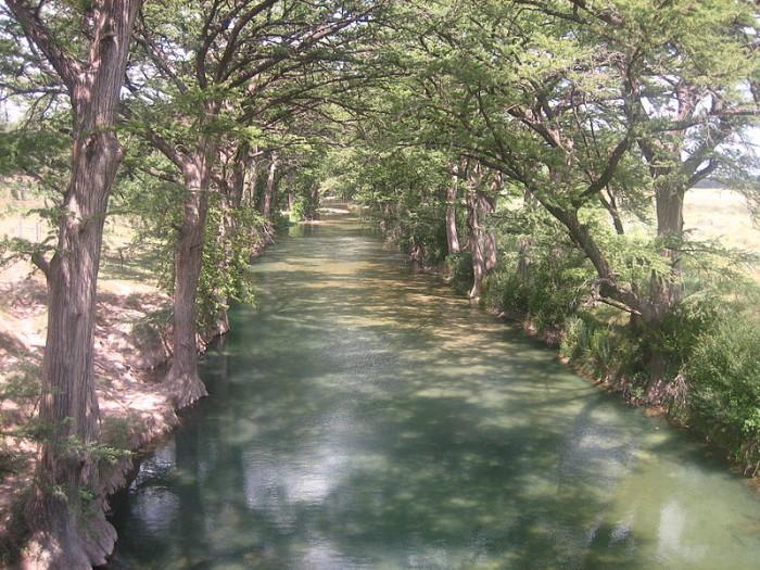 3) Medina River - Bandera