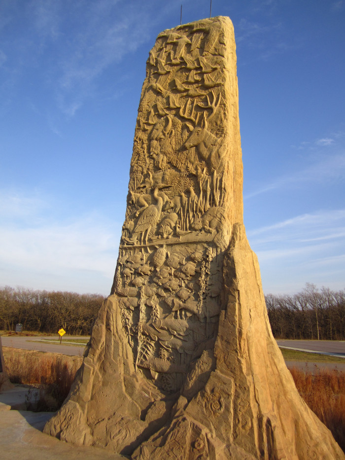 9. Towers of Time in the Ponca State Park, Ponca, NE