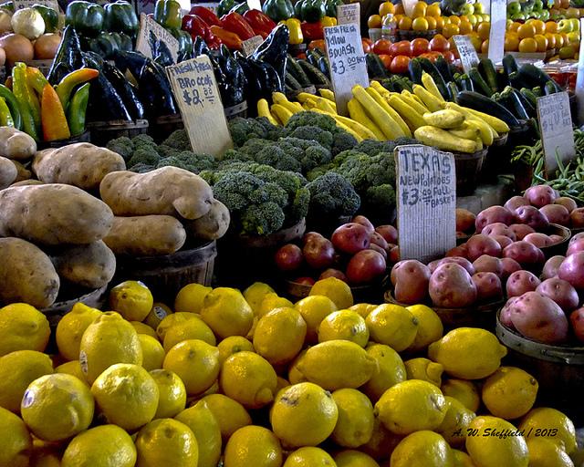 12) Farmer's Markets