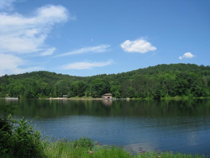 10) Lake Hope State Park (Vinton County)