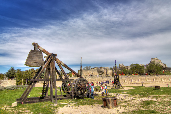 7.) Catapults may not be fired at buildings (Aspen)
