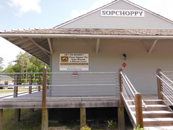 12. Sopchoppy, FL