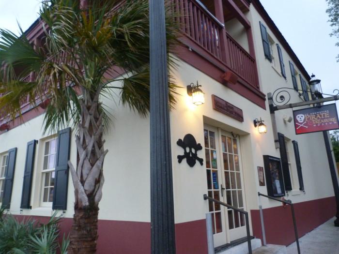 15. St. Augustine Pirate & Treasure Museum