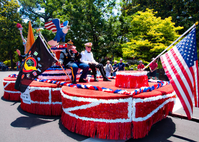 8. Aiken Memorial Day Parade