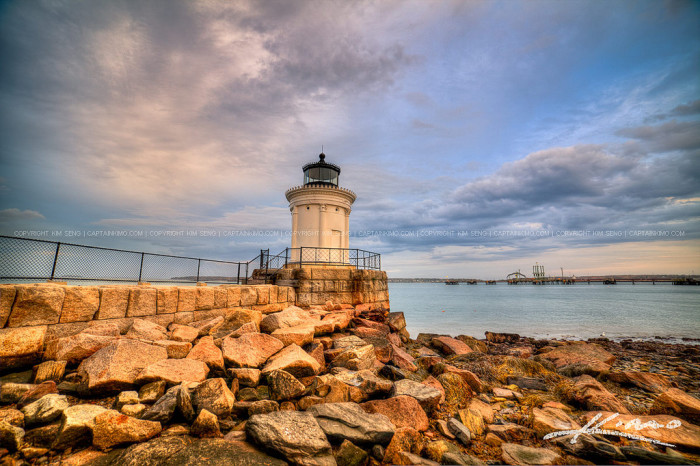 3. Bug Light Park and Portland Breakwater Lighthouse located in South Portland, Maine