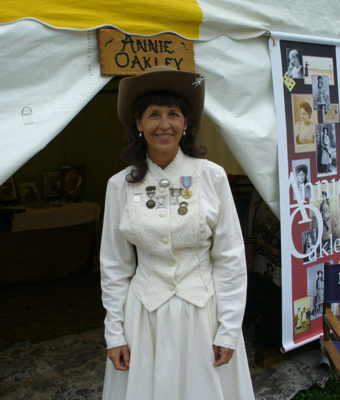 10) Annie Oakley Festival (Greenville, July) come and celebrate what life was like at the turn of the century.