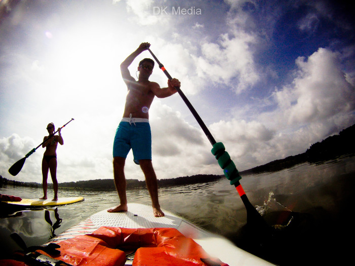 5 Learn to paddleboard.