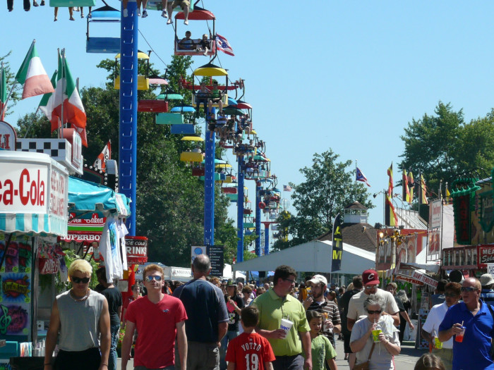 9) You've went to multiple county fairs in one summer (including the Ohio State Fair, of course.)