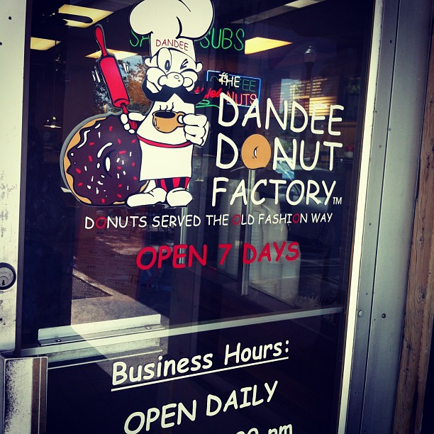 2. Dandee Donut Factory in Pompano Beach, FL, and Hollywood, FL