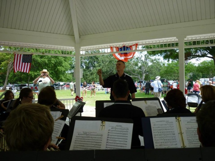 7. Memorial Day Concert in Cypress Grove Park in Orlando