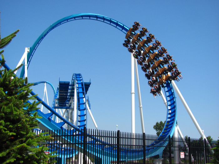 4) Roller coasters (Because we have the best of the best.)