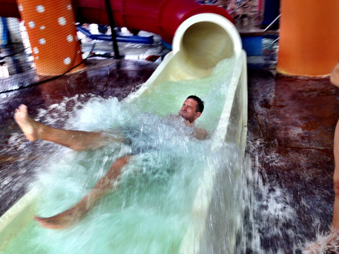7. Hit the water parks and splash pads.