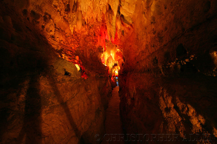9. Enchanting Crystal Lake Cave in Dubuque