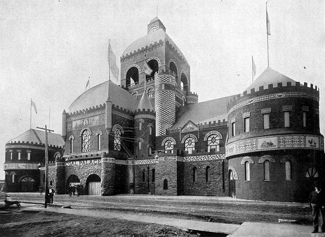 8. Coal Palace: In the late nineteenth century, Iowa had a thriving coal mining industry, and someone thought it was necessary to build a Coal Palace in Ottumwa, Iowa. As far as I know, there was no Coal Emperor or Coal King to reign over this palace, which was demolished in 1892.