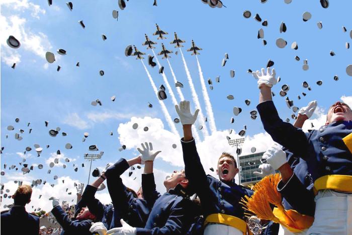 7.) Air Force Academy