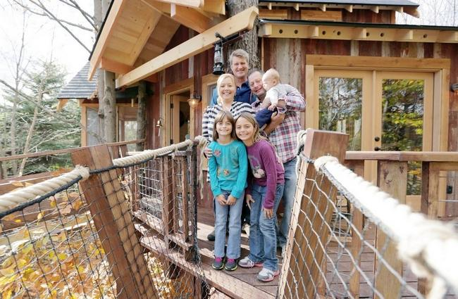 8. Wayne County Treehouse, Wayne