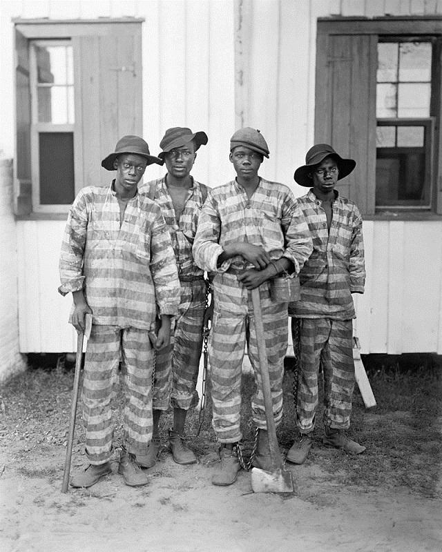 3. A Southern chain gang, 1903