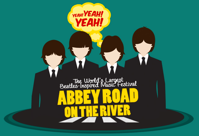 3. Abby Road on the River from May 21st to May 25th.