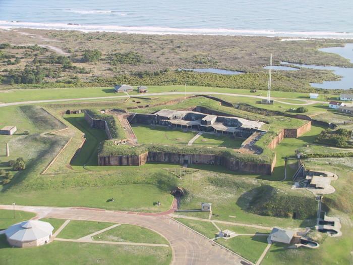 9) Fort Morgan - Mobile Bay