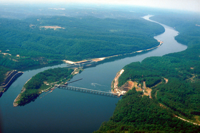 12) Bankhead Lock & Dam - Black Warrior River in Tuscaloosa County, Alabama