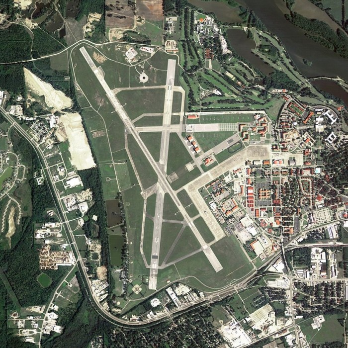 5) Maxwell Air Force Base - Montgomery, Alabama