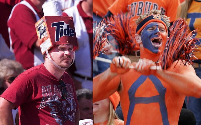 9. Tolerating Rival College Football Fans