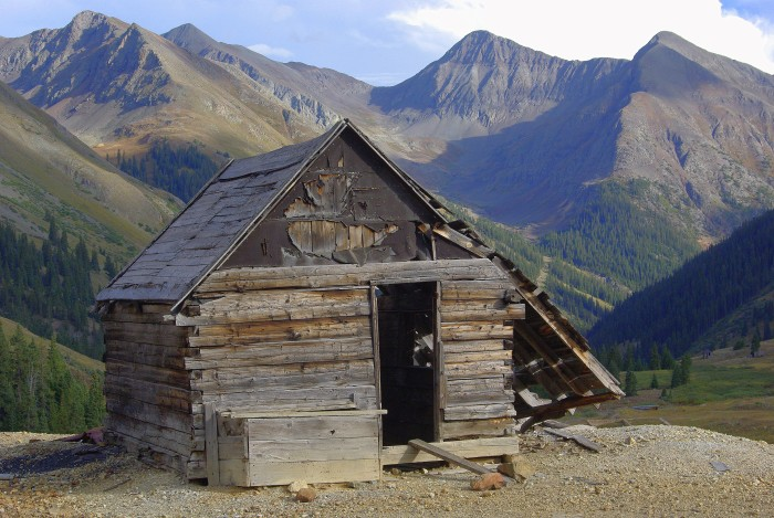 10.) A Shack in Animas Forks, Colorado