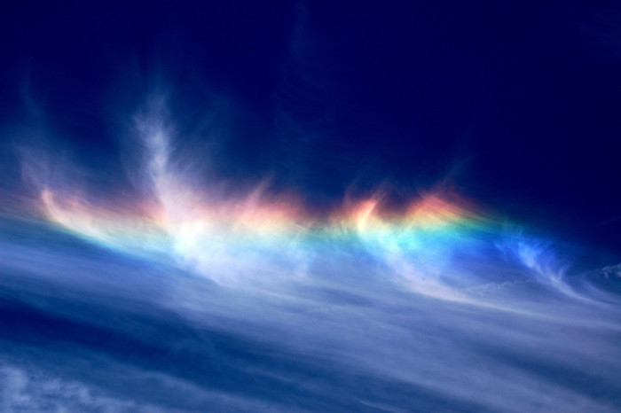 17. Circumhorizontal Arc (i.e., crazy beautiful sun rainbow)