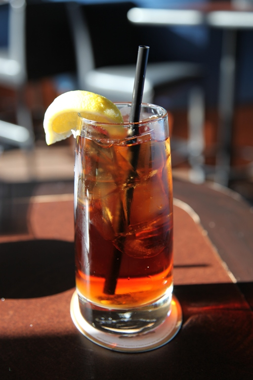 8.The Arnold Palmer drink is a favorite of Kentuckians,  created with half sweet tea and half lemonade poured over ice.