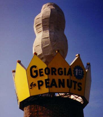 2. World's Largest Peanut in Ashburn, GA