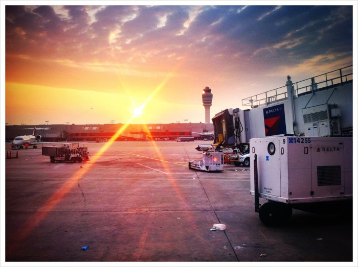 Atlanta Airport Sunrise