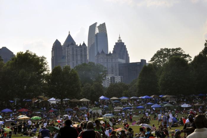 5. Atlanta Jazz Festival