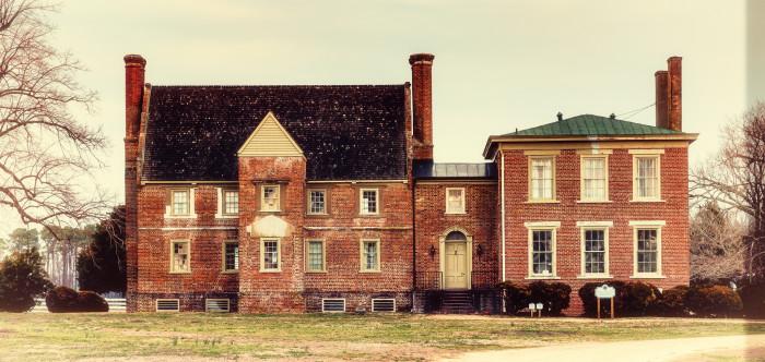 1. Bacon's Castle, Surry